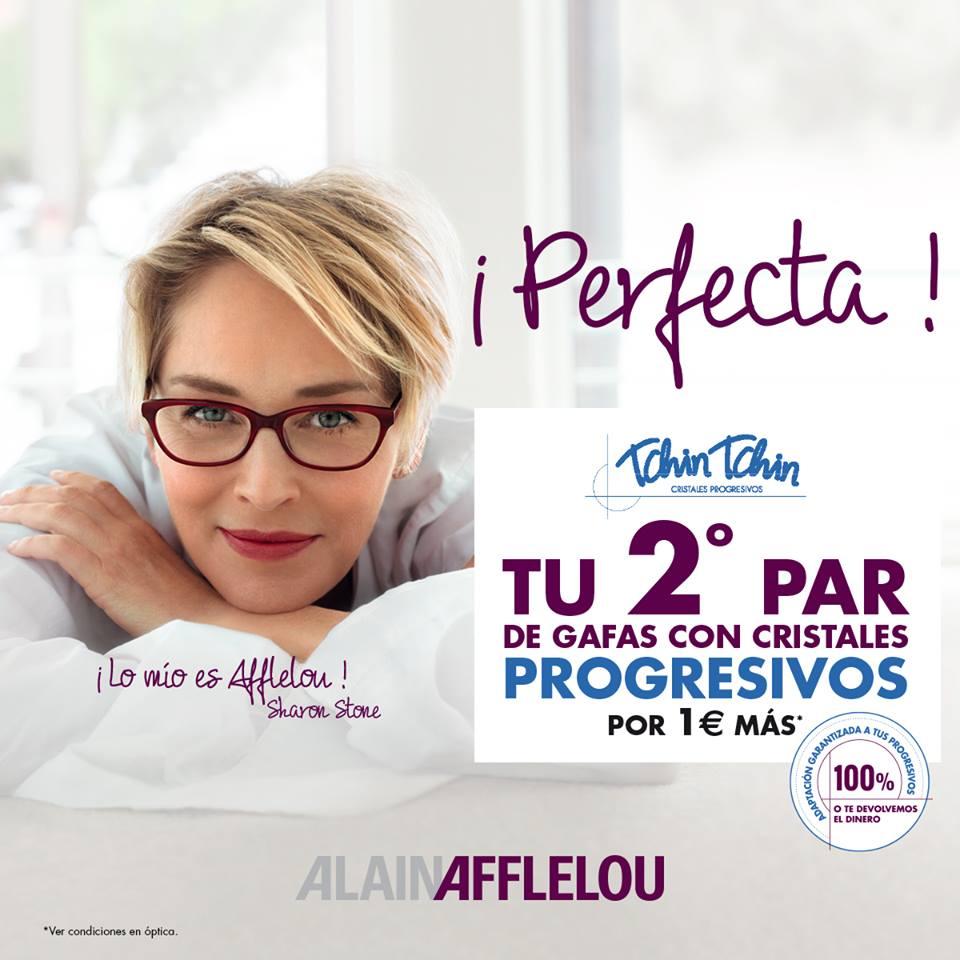 Sólo po 1€ más en Alain Afflelou puedes conseguir tu segundo par de gafas con cristales favoritos