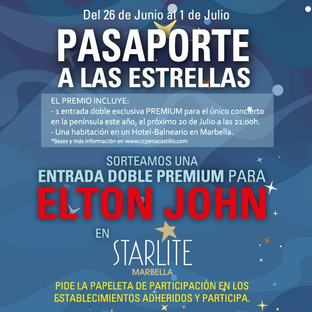 Sorteo de entradas para Elton John Starlite