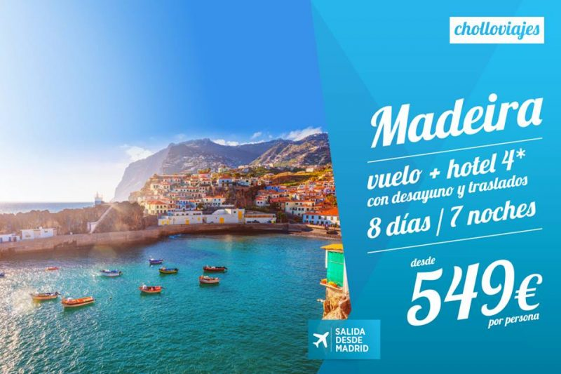 Oferta De Viagens Oferta De Viagens: A Madeira Con Viajes Carrefour