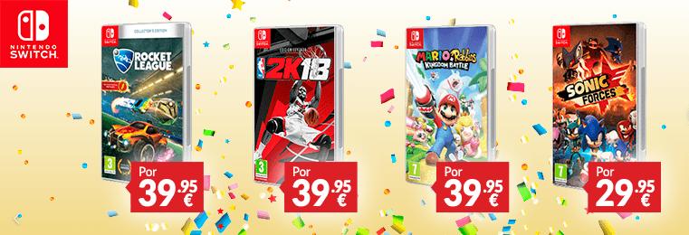 Disfruta Del Primer Aniversario De Nintendo Switch En Game Centro