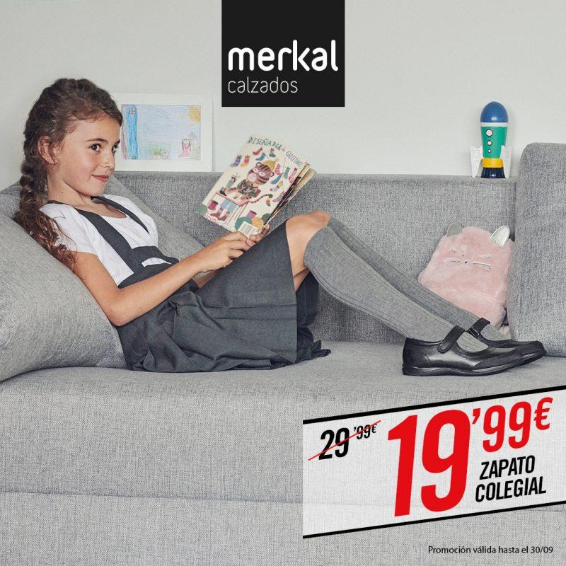 Consigue zapatos para el colegio en Merkal.