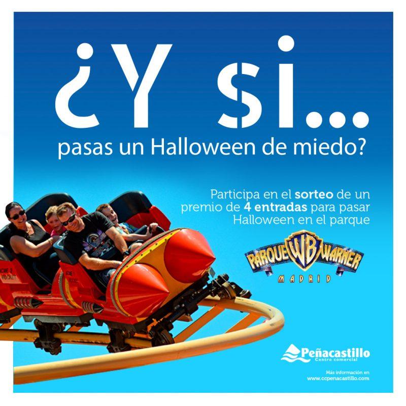 ¿Quieres pasar Halloween en el Parque Warner?