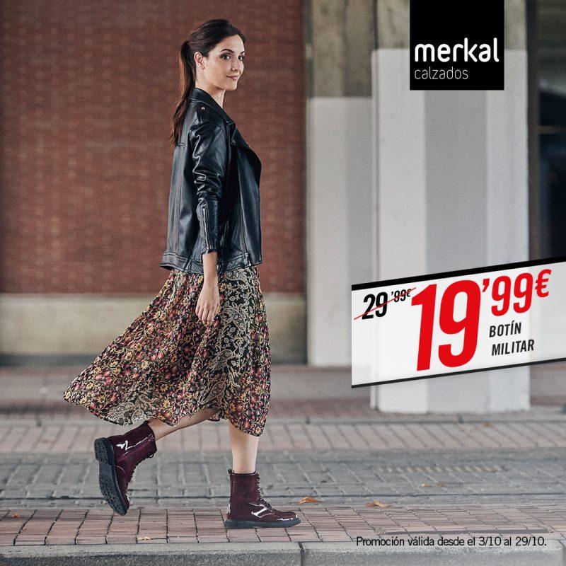 Protege tus pies este otoño con Merkal.