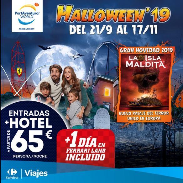 Halloween en Portaventura con Viajes Carrefour.