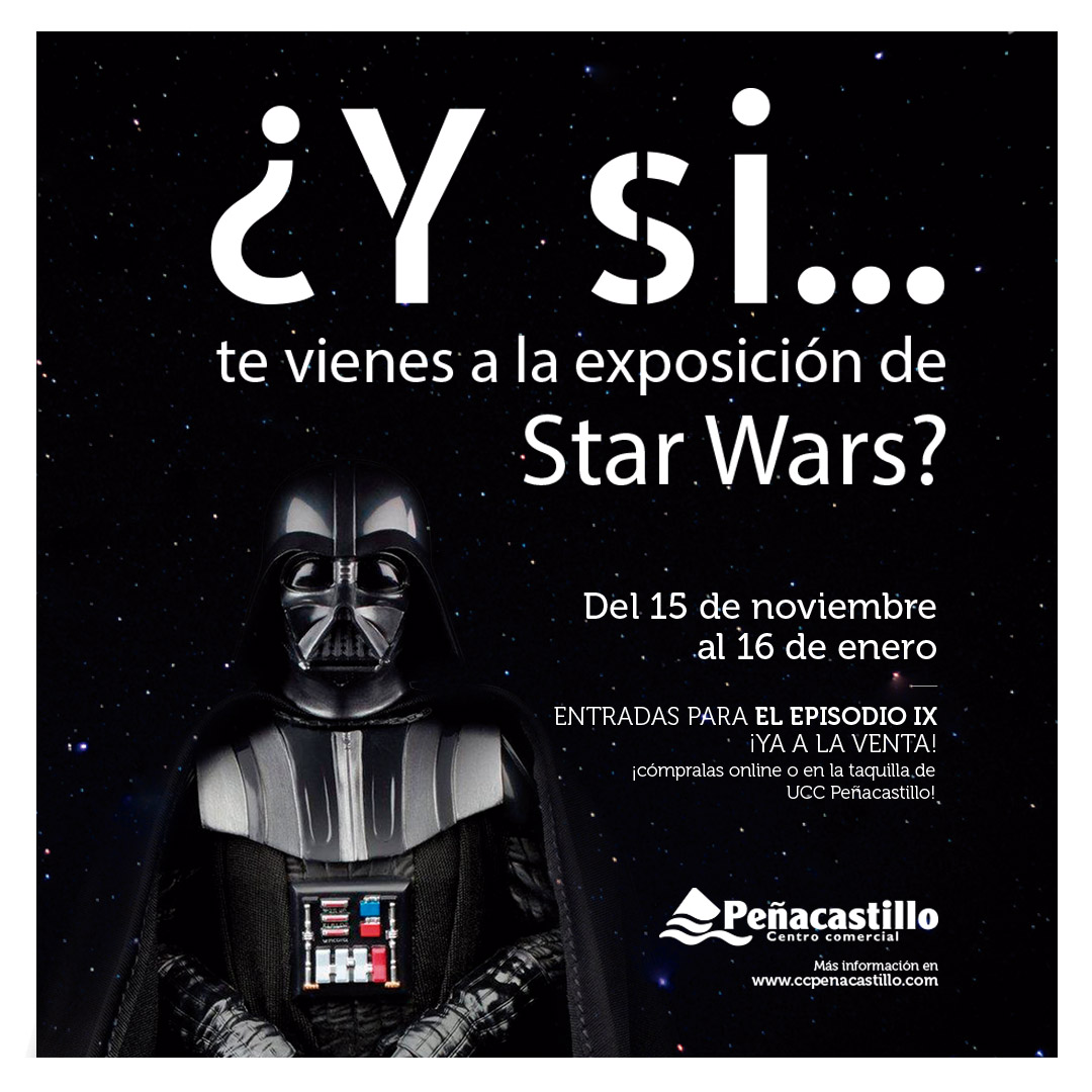Exposición de Star Wars en Santander