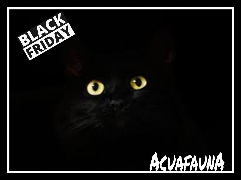Black Friday en Acuafauna.