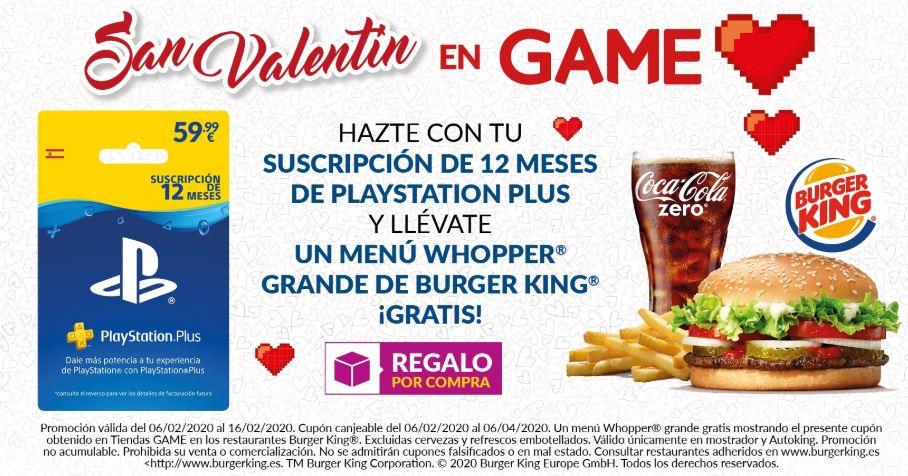 San Valentín en Game.